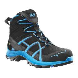 Ботинки Black Eagle Safety 40 mid Black Blue | HAIX