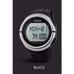 Часы милитари Alpha Watch Black | SKMEI