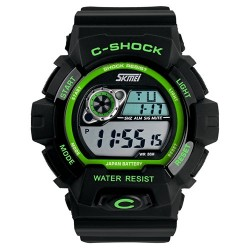 Часы милитари C-Shock Green Black | SKMEI