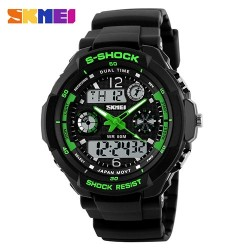 Часы милитари Force Black Green | SKMEI