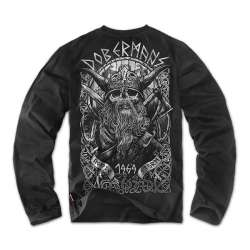 Футболка Longsleeves Viking 2 Черная | Dobermans Aggressive