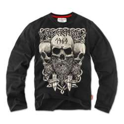 Футболка Longsleeves Viking Черная | Dobermans Aggressive
