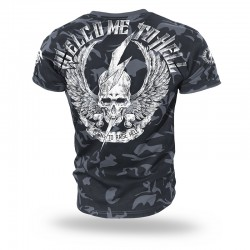 Футболка Welcome to hell II Camouflage TS156 | Dobermans Aggressive