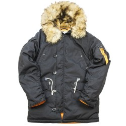 Куртка Аляска Oxford 2.0 Compass Black/Orange | Nord Denali Storm