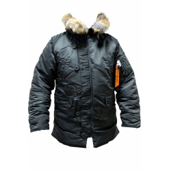 Куртка Аляска TIGHT HUSKY ll Rep.Grey/Orange | Apolloget