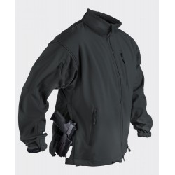 Куртка SoftShell Jackal Black | Helikon-Tex
