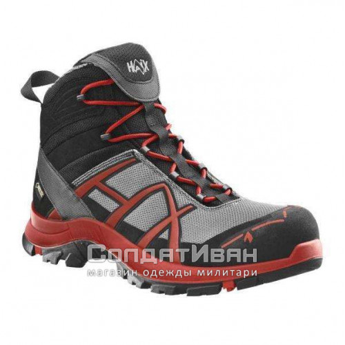Ботинки Black Eagle Safety 40 Mid stone red | Haix фото 1