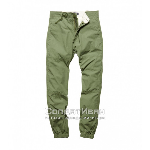 Брюки May Jogger 1035 Olive Drab | Vintage Industries фото 1