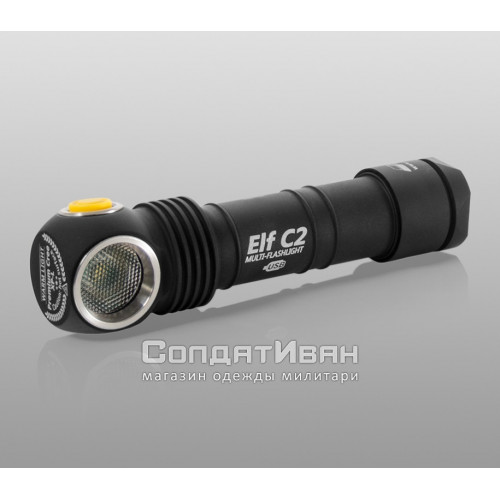 Фонарь Elf C2 XP-L Warm Light Micro-USB +18350 Li-Ion | Armytek фото 1