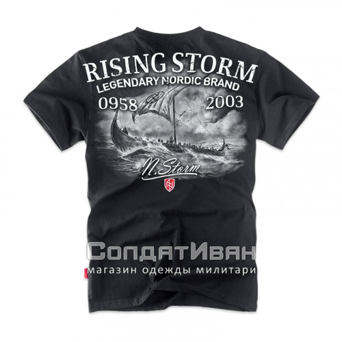 Футболка RISING STORM TS162 Black | Dobermans Aggressive фото 2