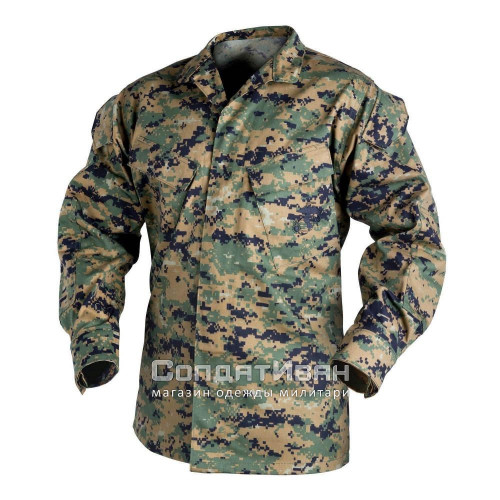 Китель USMC Digital Woodland | Helikon-Tex фото 1