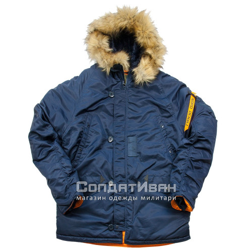 Куртка Аляска HUSKY SHORT Rep.Blue/Orange | Nord Denali Storm фото 1