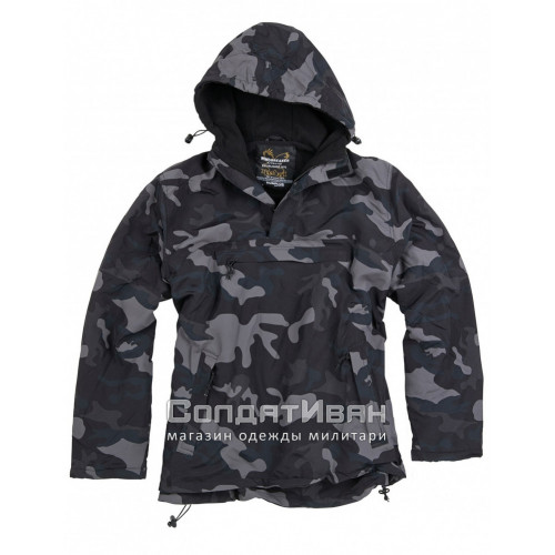 Куртка-ветровка Windbreaker Black Camo | Surplus фото 1