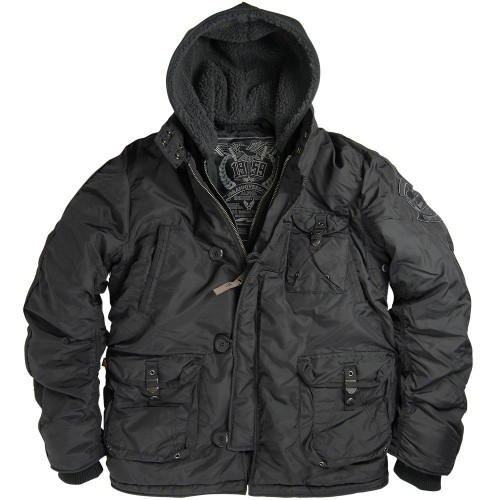 Куртка Alpha Industries Cobbs II Black фото 1