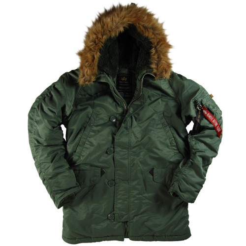 Куртка Alpha Industries N-3B Parka Sage Green фото 1