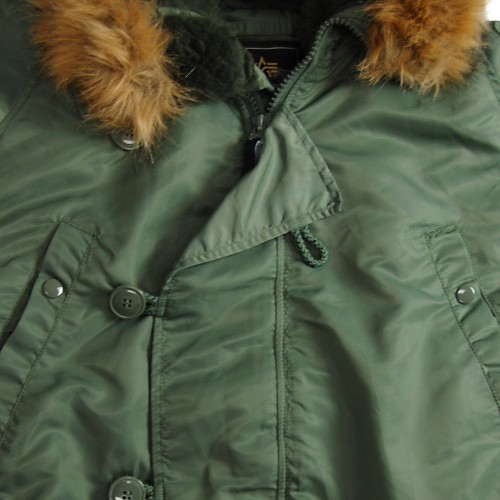 Куртка Alpha Industries N-3B Parka Sage Green фото 3