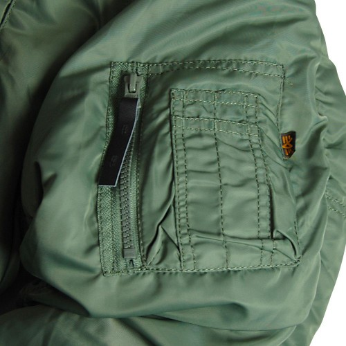 Куртка Alpha Industries N-3B Parka Sage Green фото 6