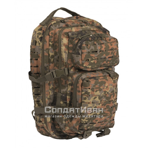 Рюкзак Тактический Assault Laser Cut Assault 40L Flecktarn | Mil-Tec фото 1