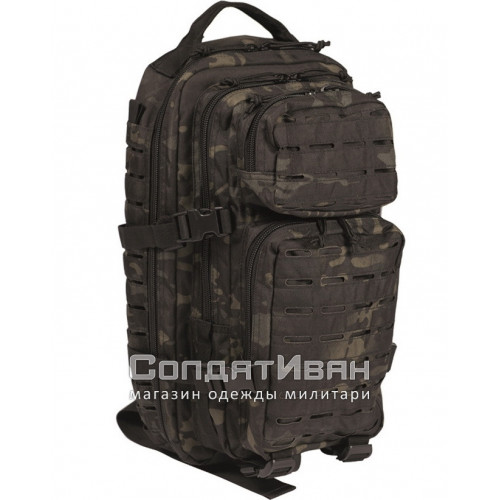 Рюкзак Тактический Assault Laser Cut Assault 25L Black Multit | Mil-Tec фото 1