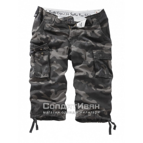 Шорты Trooper Legend 3/4 Black Camo | Surplus фото 1