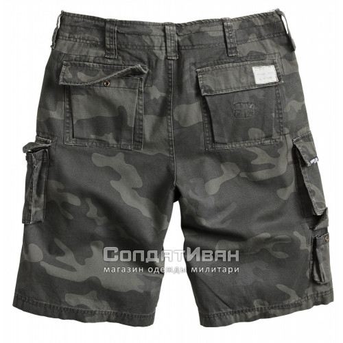 Шорты Trooper Shorts Black Camo | Surplus фото 2