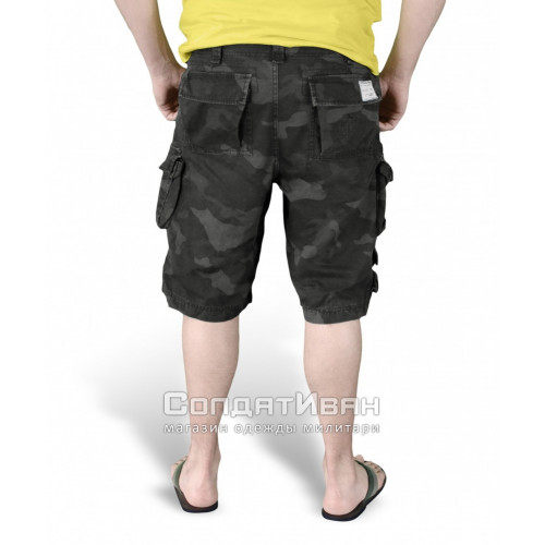 Шорты Trooper Shorts Black Camo | Surplus фото 4