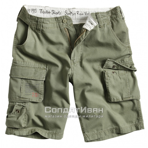 Шорты Trooper Shorts Oliv | Surplus фото 1