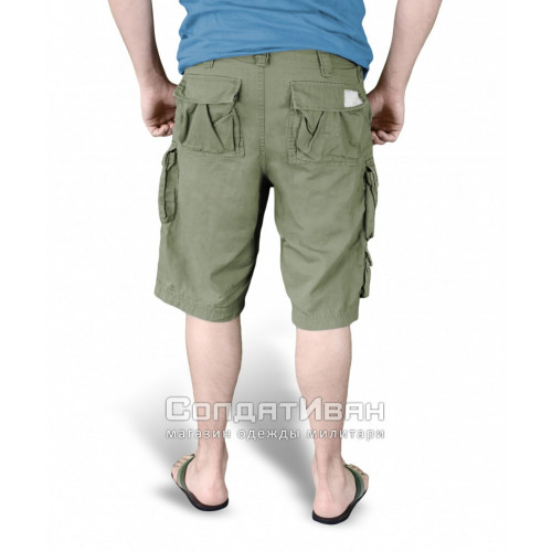 Шорты Trooper Shorts Oliv | Surplus фото 4