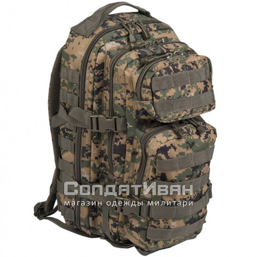 Рюкзак Тактический Assault US Army 25L W/L Digital | Mil-tec фото 1
