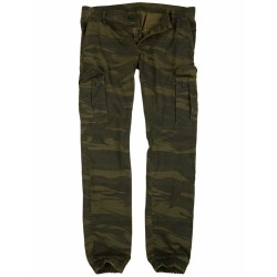 Брюки Bad Boys Pants Green Camo | Surplus