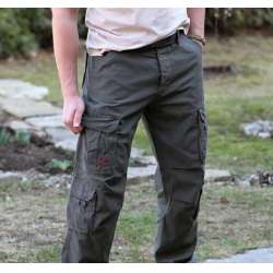 Брюки Airborne Vintage Trousers Olive | Surplus