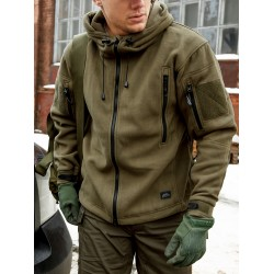 Кофта флисовая Patriot Olive Green | Helikon-Tex