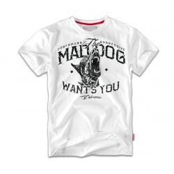 Футболка MAD DOG TS69 White | Dobermans Aggressive