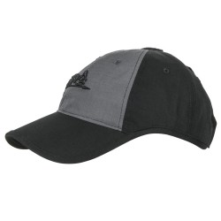 Кепка Logo Cap Black/Shadow Grey | Helikon-Tex