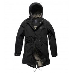 Куртка женская Britt ladies parka 25304 Black | Vintage Industries