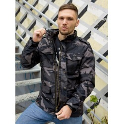 Куртка Capper parka 2204 Dark Camo | Vintage Industries
