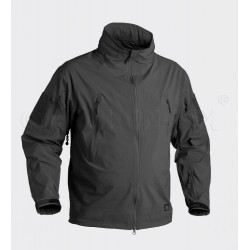Куртка ветровка Trooper Soft Shell Black | Helikon-Tex