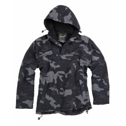 Куртка-ветровка Windbreaker Black Camo | Surplus