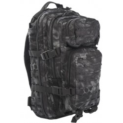 Рюкзак тактический Assault Laser Cut 25L Mandra Night | Mil-Tec