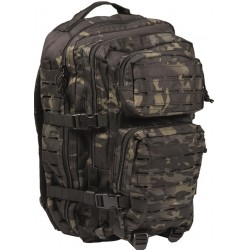 Рюкзак Тактический Assault Laser Cut 40L Night Multit | Mil-Tec