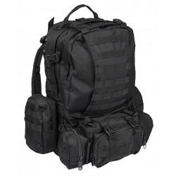 Рюкзак тактический Defense Pack Assembly 40L Black | Mil-Tec