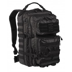 Рюкзак US ASSAULT PACK 25L TACTICAL BLACK | Mil-tec