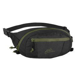 Сумка поясная Bandicoot Black/Olive Green | Helikon-Tex