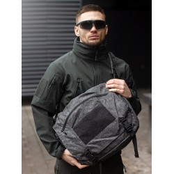 Сумка URBAN COURIER BAG Large Melange Black-Grey | Helikon-Tex