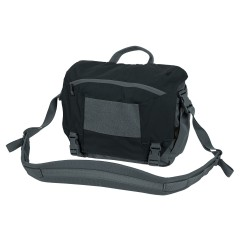 Сумка URBAN COURIER BAG Medium Black/Shadow grey | Helikon-Tex