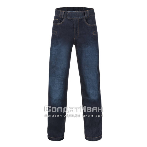 Брюки GREYMAN TACTICAL JEANS Dark Blue | Helikon-Tex фото 6