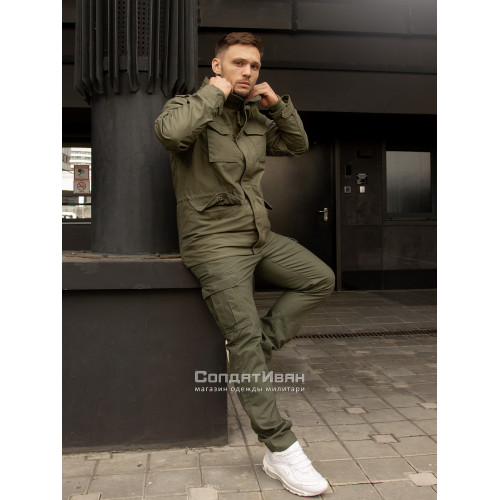 Брюки Mallow 1033 Olive | Vintage Industries фото 5