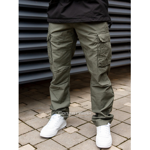 Брюки Reef 1025 Olive | Vintage Industries фото 2
