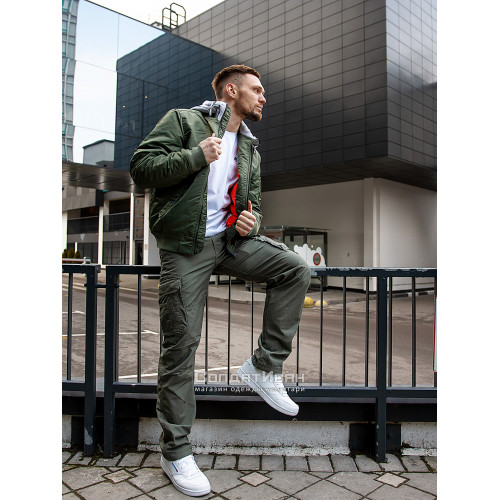 Брюки Reef 1025 Olive | Vintage Industries фото 3