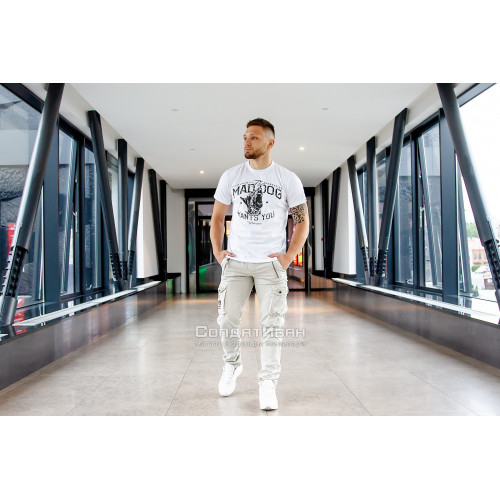 Брюки Royal traveler slimmy Royal White | Surplus фото 2